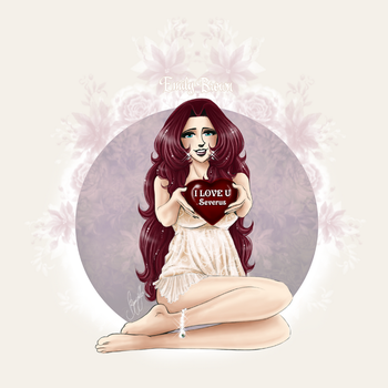 Emily Brown - You own my heart Severus by RedPassion