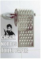 CHUCK NORRIS TOILET PAPER by tranixter