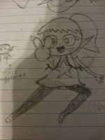 Katie my new character! (Also my cartoon style!) by Jewelpet56