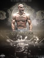 Robbie Lawler 'Ruthless' Poster by DGsWay