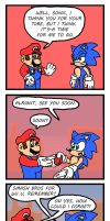 Mario and Sonic: Going 3rd-Party (Part 10) by McShmoodle