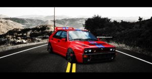 Lancia Integrale by SkicaDesign