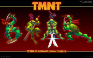 TMNT 1a by KidKalig by batwolverine