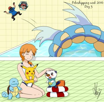 Getting along with the other's Pokemon(PSweek2016) by Marsy3