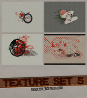 Texture Set 5 by deadlysilence16
