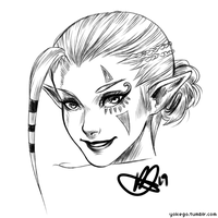 Impa Sketch by mi-lann