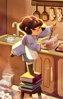 Cooking with a Killer Human! by tooterscoot