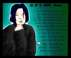 The ID of a Snape Addict by mitani-chan