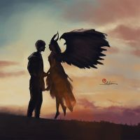 Angel in love by pedrum