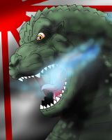 Godzilla the King of the Monsters by WaniRamirez