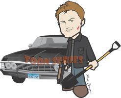 Dean Winchester - Supernatural by toonseries