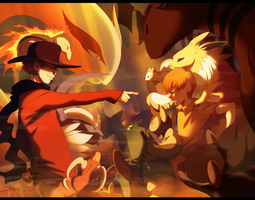 Pokemon Showdown by TamberElla