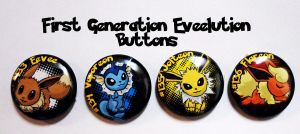 Eveelution_Buttons by wanabiEPICdesigns