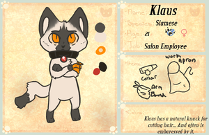 KKC: Klaus by SaintPumpkinMuffin
