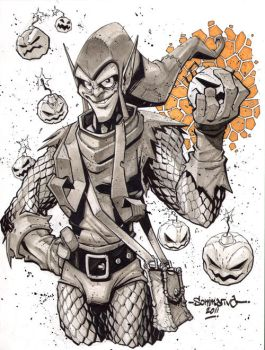 Green Goblin :: Sketch 04 by Red-J