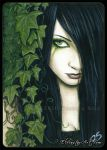 ACEO -- Ivy by ElvenstarArt