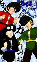 Ranma Boys by thefalcoace