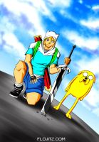 Adventure Time by Flo-Jitz