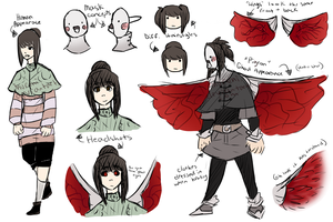 [Tokyo Ghoul OC] 'The Pigeon' by Muruni