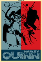 Harley-Quinn by dianaluc
