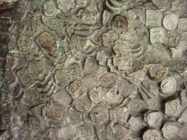 Coin fossils by mad-texture