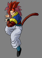 Gotunks SSJ4 by Gokuten