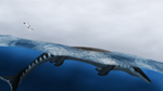 Cretaceous Sea Serpent by PrimevalRaptor