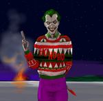 TLIID Ugly Christmas Sweaters - The Joker by Nick-Perks
