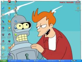 Bender and Fry are Robosexuals by Futurama-Yaoi-Yuri