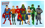 The Original Justice League of America by Femmes-Fatales