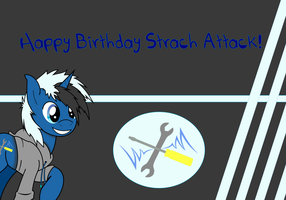 Happy Birthday Strach Attack by TronicMusic