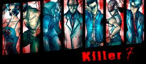Killer 7 by naiyoblue