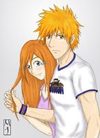 Young Love- Ichihime by BoxOfNinja