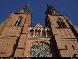 Uppsala Cathedral 2 by Daniel-Venice