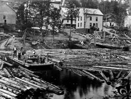 Baie-de-Shawinigan-1900 by J-Bellemare