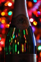 Bottle bokeh by fotografka