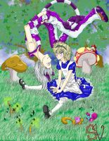 Roxas in Wonderland by Sacred-Vengeance