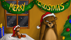 Merry Christmas, guys! ^w^ by TonyCrynight