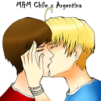 Chile x Argentina by 0hitomi0
