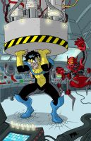 Invincible II Color by superleezard