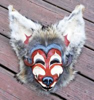 Mask: Coyote the Trickster by MonicaMcClain