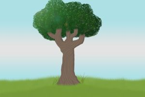 Lonely Tree 1 by ZoerithH