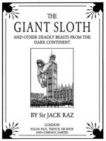 The Giant Sloth: Titlepage by JackRaz