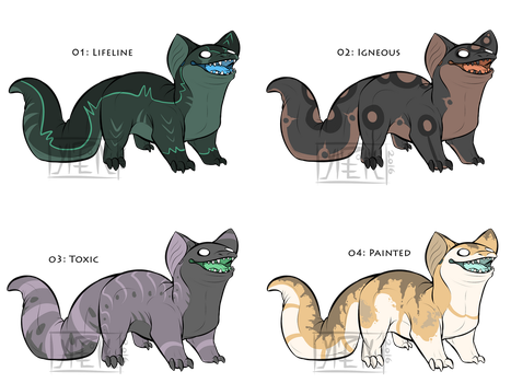 Pudgy Creature Adopts (Toxic open) by notecardPasta