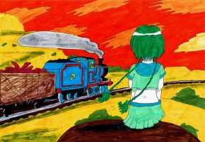 There Goes a Train by MeganekkoPlymouth241