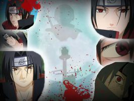 Itachi Colage by Ayanae