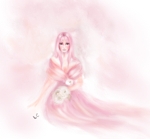 In Soft Pink Gown by thepurpleorchid1