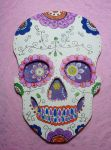 Day of the dead skull by Ideas-in-the-sky