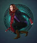 Amy and the Pandorica by eclecticmuse
