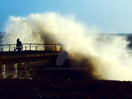 High tide in hove #2 by rotellaro